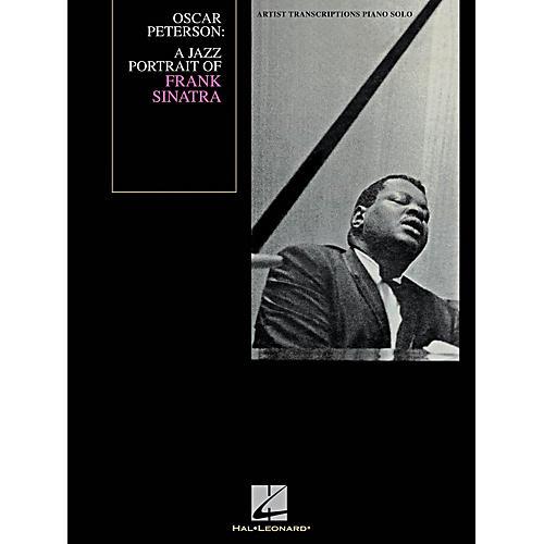 Hal Leonard Oscar Peterson - A Jazz Portrait Of Frank Sinatra - Artist Transcription for Piano