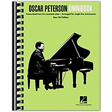 Hal Leonard Oscar Peterson - Omnibook (Bass Clef Instruments) Jazz Transcriptions