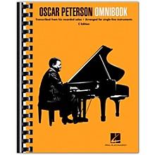 Hal Leonard Oscar Peterson - Omnibook (C Instruments) Jazz Transcriptions