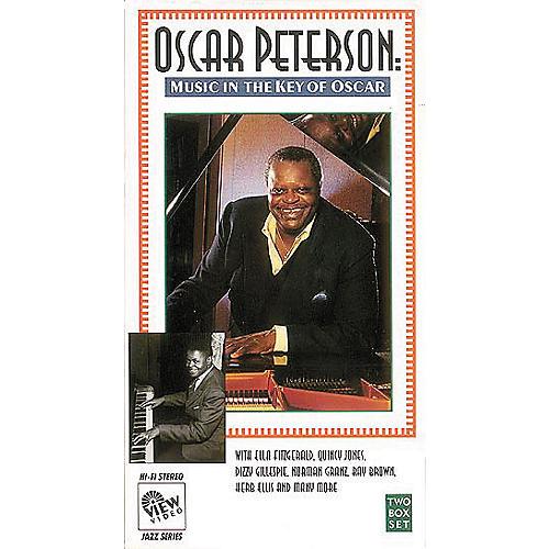 Hal Leonard Oscar Peterson: Music in the Key of Oscar/Video