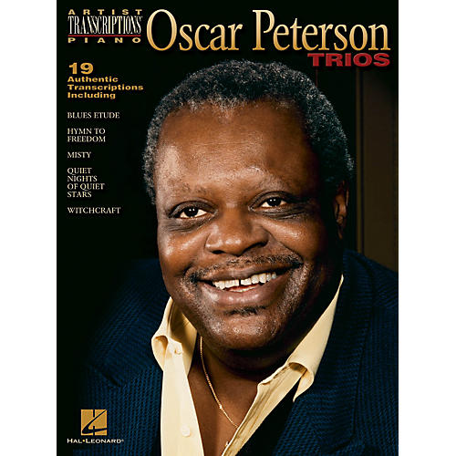 Hal Leonard Oscar Peterson Trios Artist Transcriptions Series Performed by Oscar Peterson