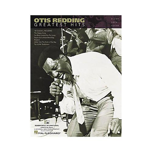 Hal Leonard Otis Redding - Greatest Hits Piano/Vocal/Guitar Artist Songbook