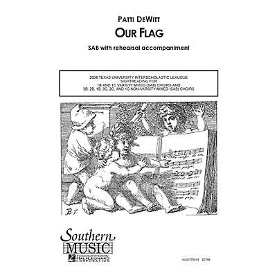 Hal Leonard Our Flag (Choral Music/Octavo Secular Sab) SAB Composed by Dewitt, Patti