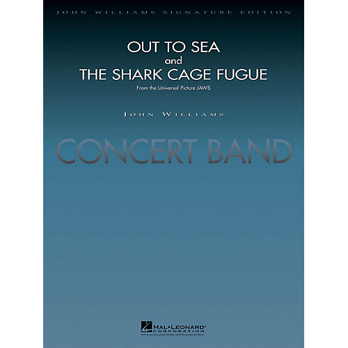 Hal Leonard Out to Sea and The Shark Cage Fugue (from Jaws) (Deluxe Score) Concert Band Level 5 by Jay Bocook