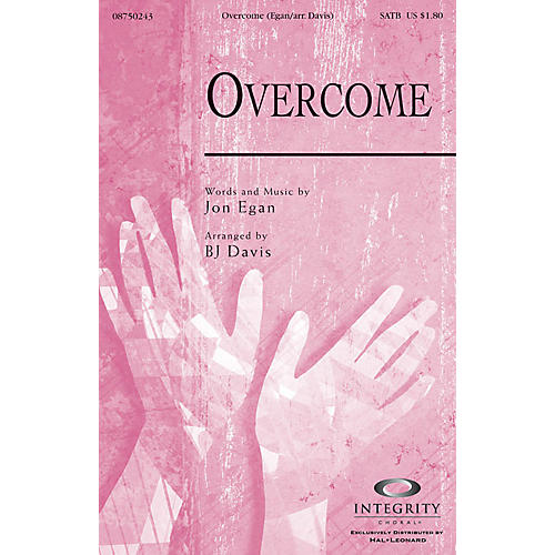Integrity Choral Overcome CD ACCOMP Arranged by BJ Davis