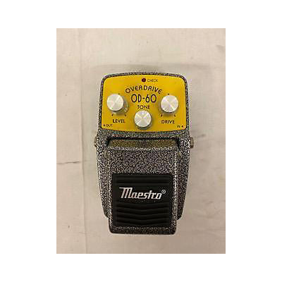 Maestro Overdrive OD-60 Effect Pedal