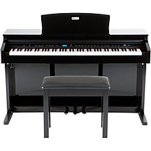 Williams Overture 2 88-Key Console Digital Piano & WPB Piano Bench Kit