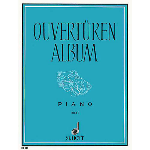 Schott Overture Album 1 Piano Schott Series