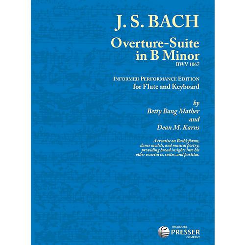 Theodore Presser Overture-Suite In B Minor (Book + Sheet Music)