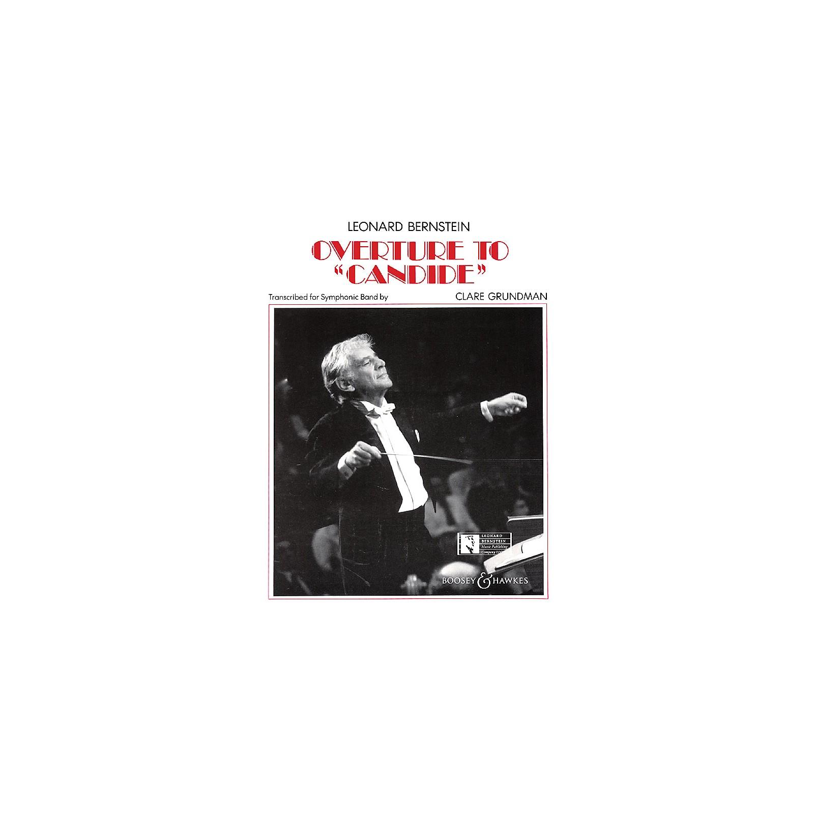 Leonard Bernstein Music Overture to Candide Concert Band Arranged by Clare Grundman