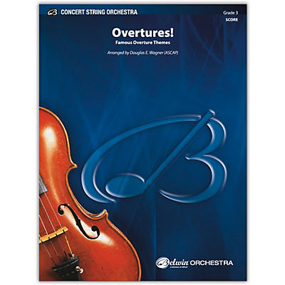 BELWIN Overtures! Conductor Score 3