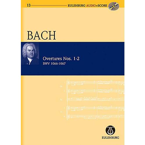 Eulenburg Overtures Nos. 1-2  BWV 1066-1067 Eulenberg Audio plus Score Series Composed by Johann Sebastian Bach