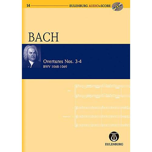 Eulenburg Overtures Nos. 3-4 BWV 1068-1069 Eulenberg Audio plus Score Series Composed by Johann Sebastian Bach