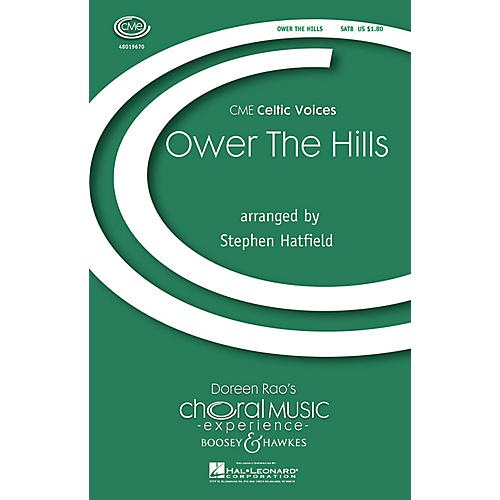 Boosey and Hawkes Ower the Hills (CME Celtic Voices) SATB arranged by Stephen Hatfield