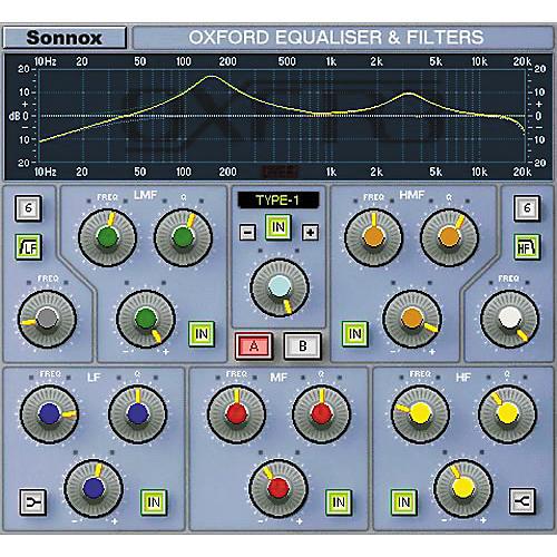 Sonnox Oxford EQ Native Plug-In