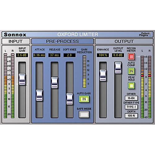 Sonnox Oxford Limiter HD / TDM Plug-In
