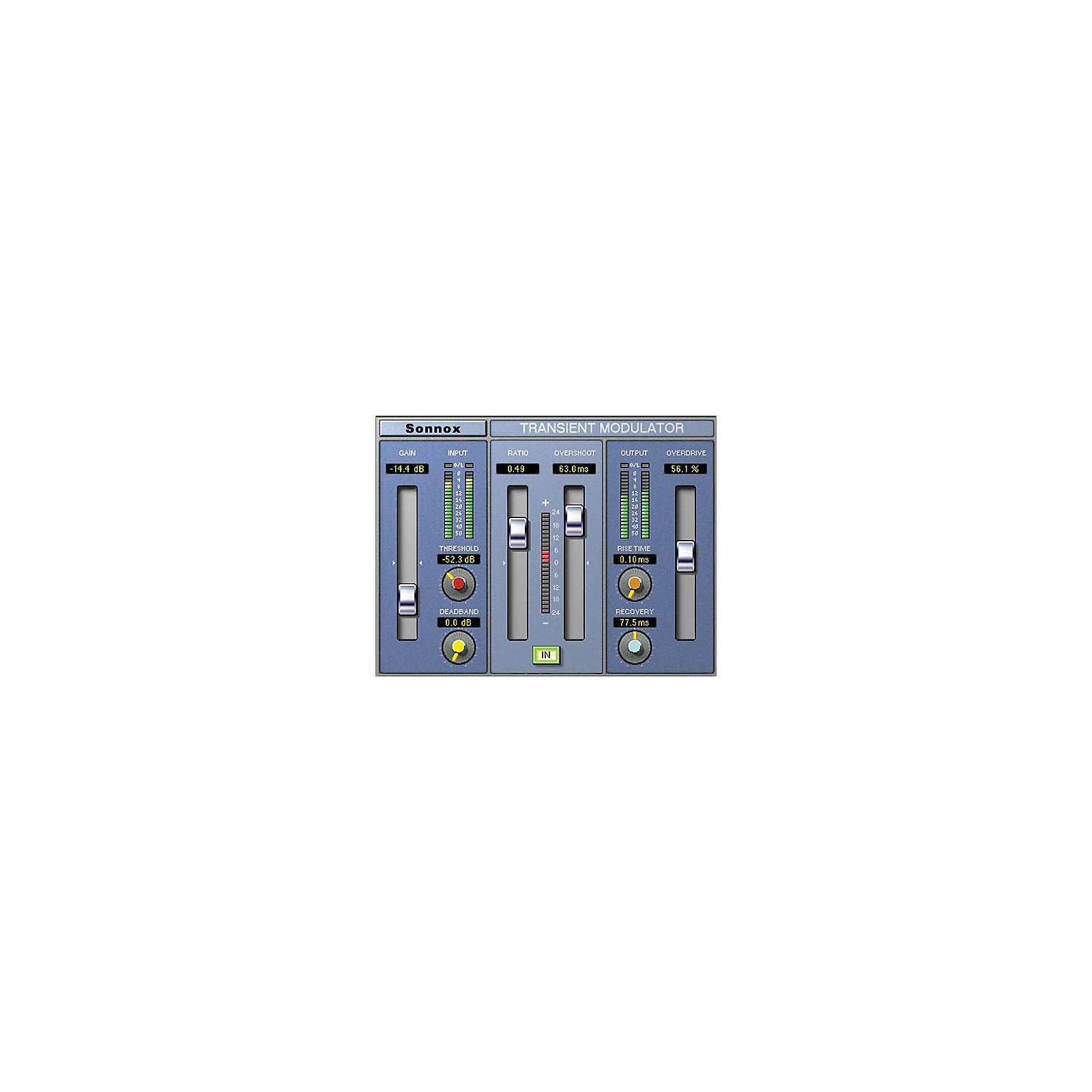 Sonnox Oxford TransMod (HD-HDX) Software Download