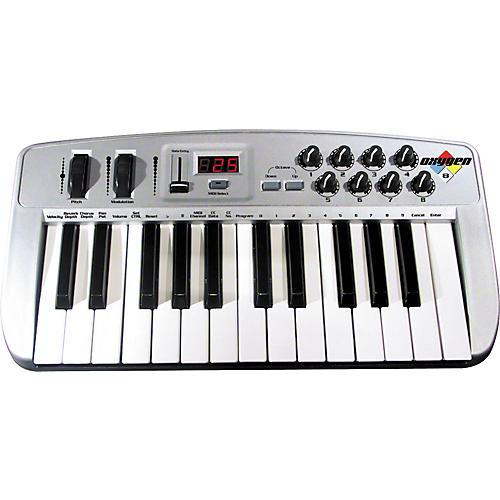 M Audio 02 Usb Midi Controller : m audio oxygen 8 25 key usb midi controller musician 39 s friend ~ Vivirlamusica.com Haus und Dekorationen
