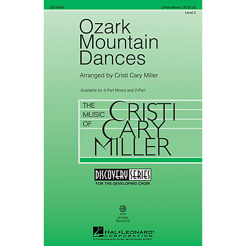 Hal Leonard Ozark Mountain Dances (Medley Discovery Level 2) 3-Part Mixed arranged by Cristi Cary Miller