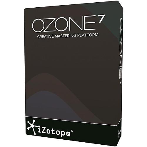 iZotope Ozone 7 Mastering Software