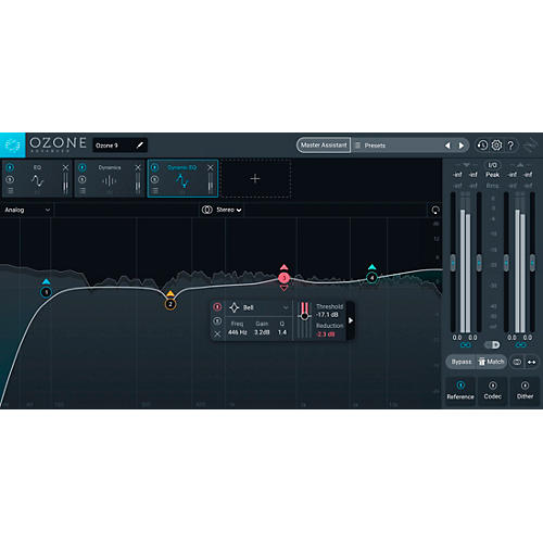 Ozone 9 Advanced: Crossgrade from Tonal Balance Control 2 (Software Download)