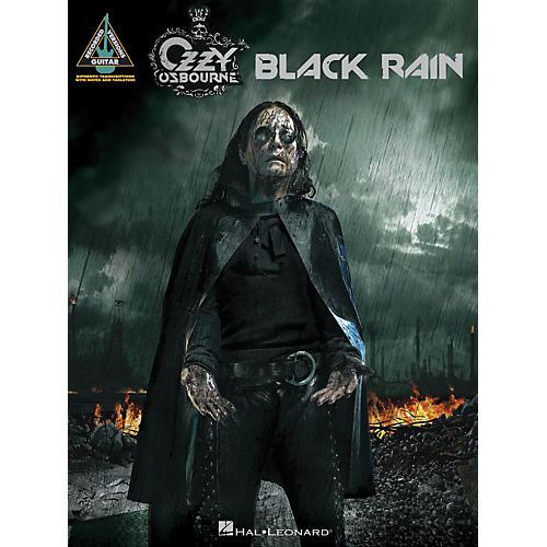Hal Leonard Ozzy Osbourne - Black Rain Guitar Tab Songbook ...