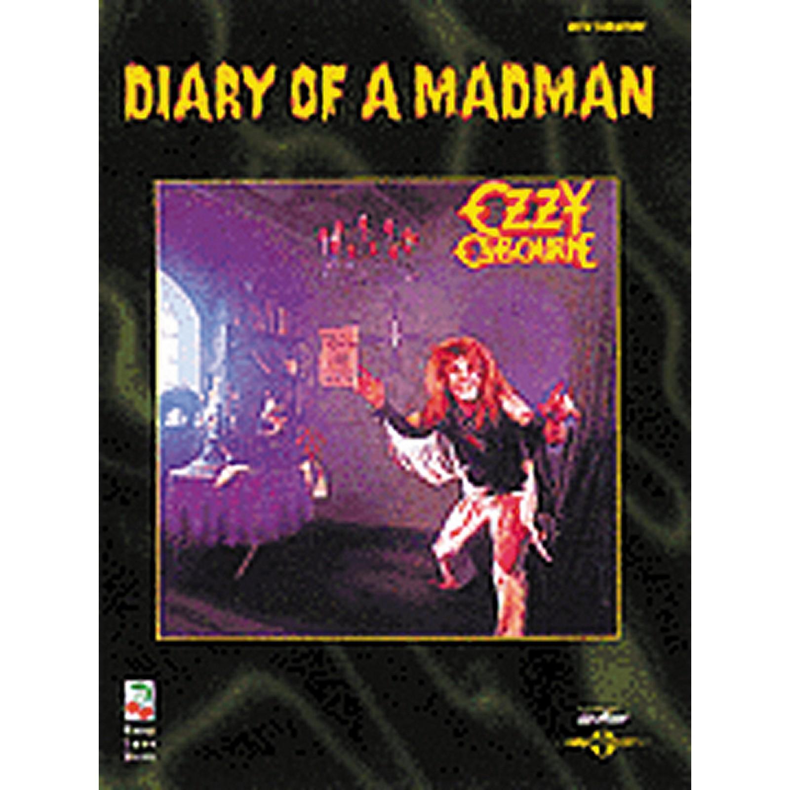 Hal Leonard Ozzy Osbourne Diary of a Madman Guitar Tab Songbook