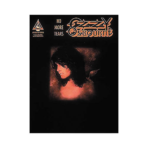 Hal Leonard Ozzy Osbourne No More Tears with Guitar Songbook with Notes & Tablature