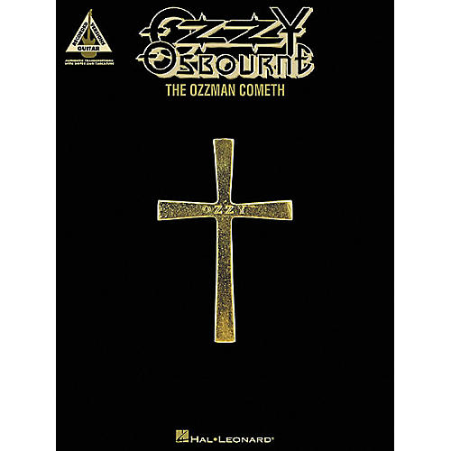 Hal Leonard Ozzy Osbourne The Ozzman Cometh Guitar Tab Songbook