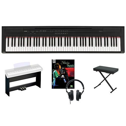 Yamaha P-105 Keyboard Package 1