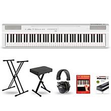 Yamaha P-125 Digital Piano Keyboard Package