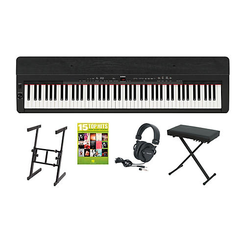 Yamaha P-155 Black Keyboard Package 2
