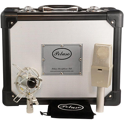 Peluso Microphone Lab P-414 Solid State Large Diaphragm Multi Pattern Condenser Microphone Kit
