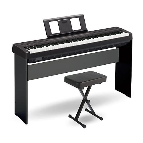 Yamaha p 45 88 key weighted action digital piano black for Yamaha digital piano dealers