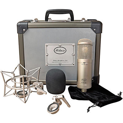 Peluso Microphone Lab P-47 SS Solid State Large Diaphragm Multi Pattern Microphone Kit