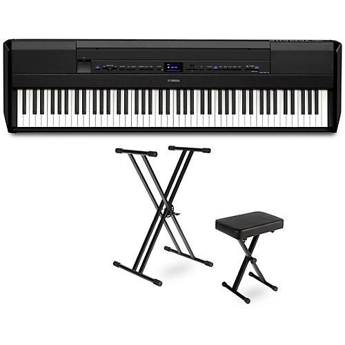 Yamaha P-515 Digital Piano Package Black Essentials