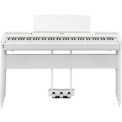 Yamaha P-515 Digital Piano with Matching Stand and LP-1 Pedal Unit