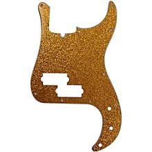 P-Bass Pickguard Gold Sparkle