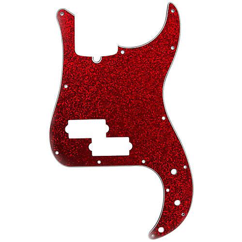 D'Andrea P-Bass Pickguard Red Sparkle