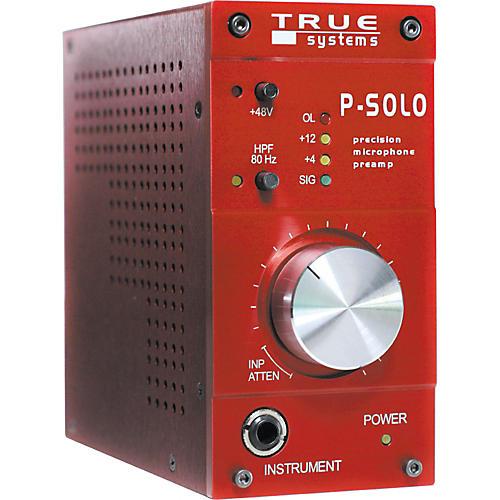 True Systems P-SOLO Single Channel Microphone Preamp