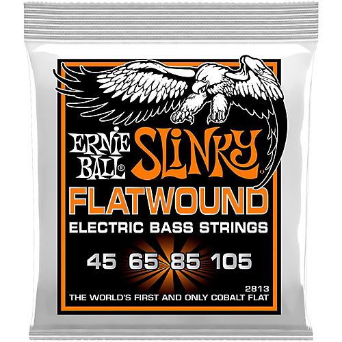 Ernie Ball P02813 Hybrid Slinky Flatwound Bass Strings