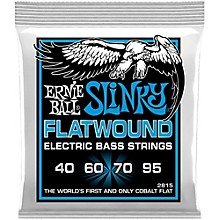 Ernie Ball P02815 Extra Slinky Flatwound Bass Strings