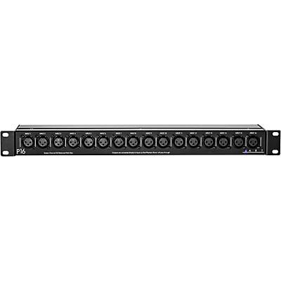 ART P16 16-Channel XLR Balanced Patch Bay