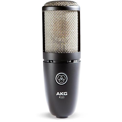 AKG P220 Project Studio Condenser Microphone Condition 1 - Mint