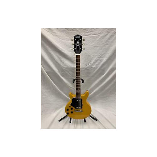 Eastwood P90 Double Cutaway Solid Body Electric Guitar Yellow