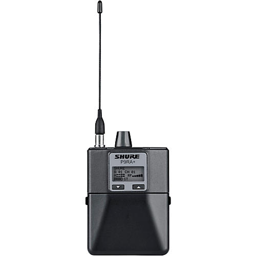 Shure P9RA+ Bodypack Receiver for Shure PSM 900 Personal Monitor System G6