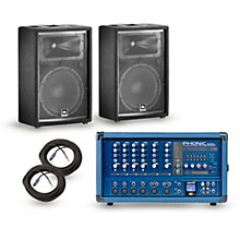 PA Package Powerpod 630R Mixer with JRX200 Speakers 12
