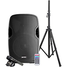 "Gemini PA Package with AS-15BLU 15"" Active Loudspeaker"