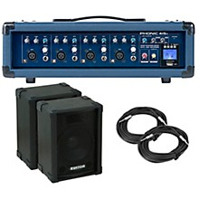 Phonic PA Package with Powerpod 415R Mixer and Kustom KPC Speakers