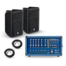 Phonic PA Package with Powerpod 630R Mixer and CBR Speakers